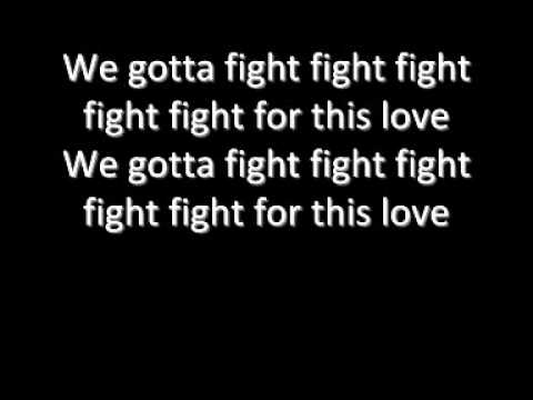 THE WANTED Fight for this love