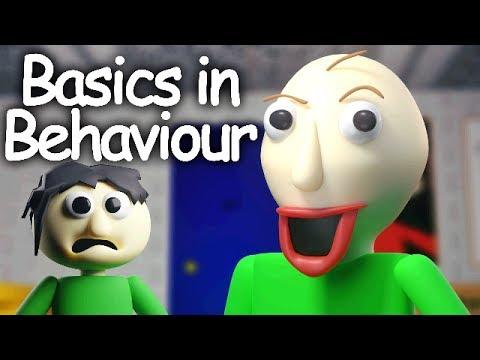 [SFM] Basics in Behavior [Blue] - Baldi's Basics Song