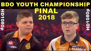van Tergouw v Heffernan BDO 2018 Youth FINAL World Championship [HD1080p]