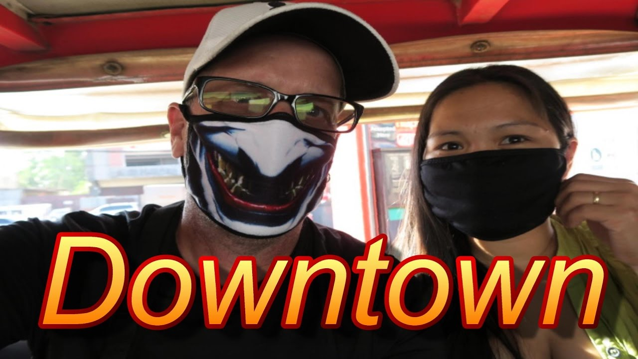 Angeles City Philippines 2017 Going Downtown Youtube