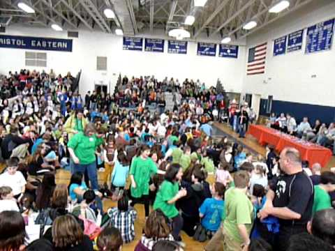 Odyssey of The Mind Bugbee School Receiving 2nd Place CT State Finals