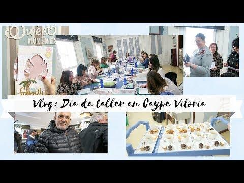 Día De Taller De Scrapbooking En Caype Vitoria