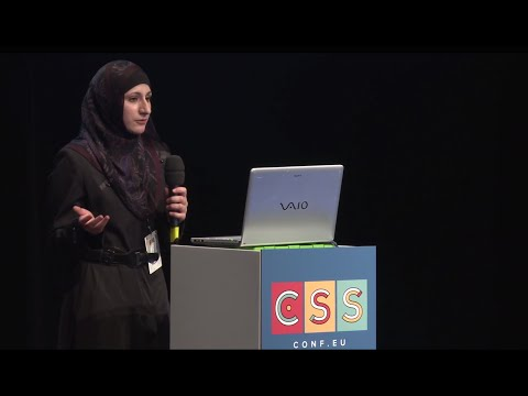 CSSconf EU 2014 | Sara Soueidan: Styling and Animating Scalable Vector Graphics with CSS