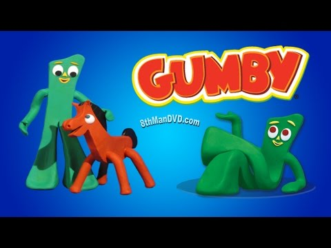 THE BIGGEST GUMBY SHOW COMPILATION - Gumby, Pokey And More! (HD 1080p)
