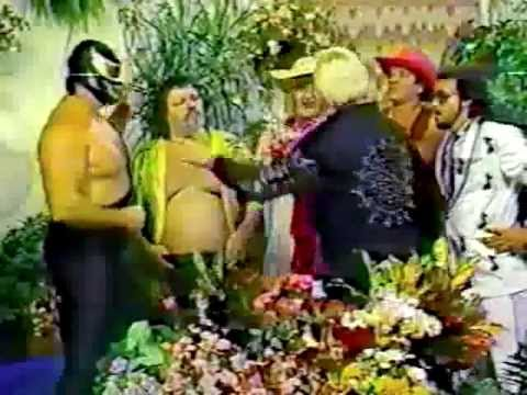 WWF The Flower Shop 1986