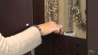 Photo Frames Wall Mount Jewelry Armoire Mirror - Product Review Video