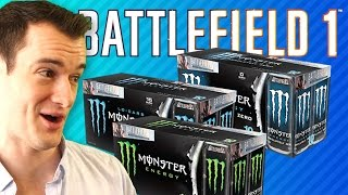 MONSTER 30 BATTLEPACK OPENING!   Battlefield 1