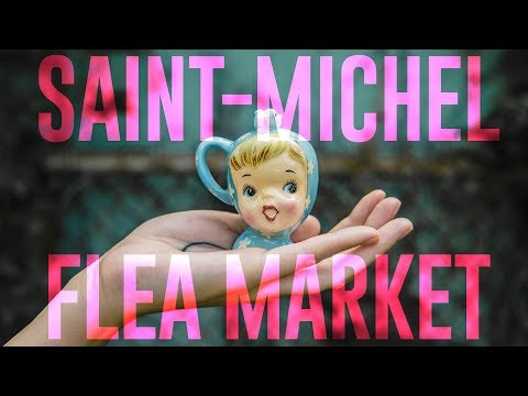 Montreal Flea Market - Oddities, Vintage & Antiques (VLOG)