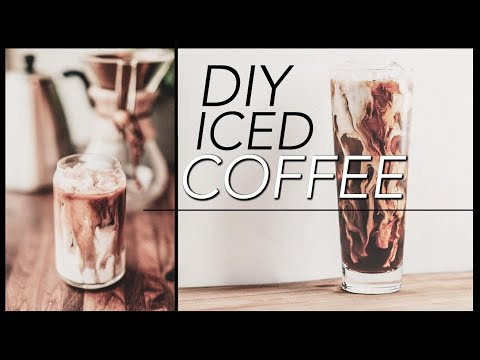 EASY Iced Coffee Recipe | DIY Iced Coffee