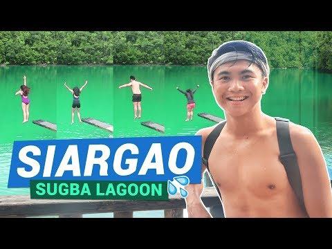 SUGBA LAGOON (Siargao Island Philippines) 💦 | Kermit Siargao 🍕 | TricksterzPH