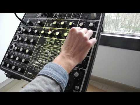 Hornet modular synthesizer S/H arpeggios part 1
