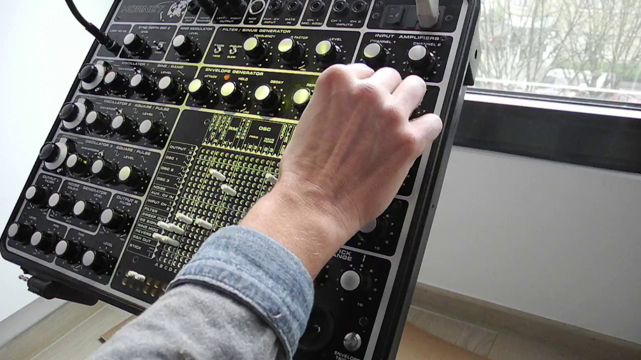 hornet modular synthesizer s h arpeggios part 1 youtube. Black Bedroom Furniture Sets. Home Design Ideas