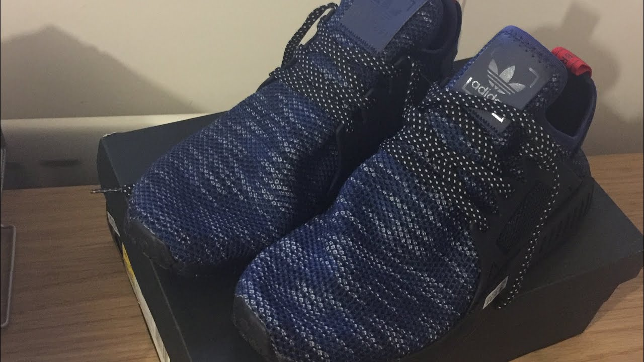 on sale 926a7 3c3e8 Unboxing NMD XR1 Blue Black (JD Sports Exclusive)