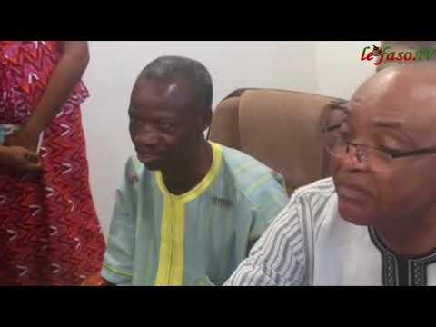 Issouf Sawadogo, ministre de la culture, des Arts et du tourisme a pris fonction
