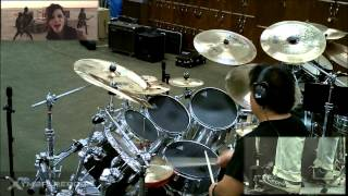In the End by Black Veil Brides Drum Cover by Myron Carlos