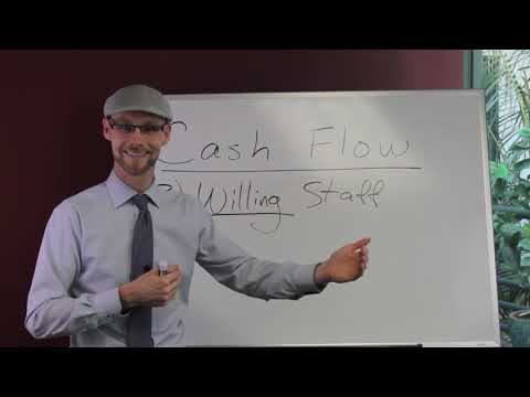 Business Cash Flow Investment - Having Willing Staff