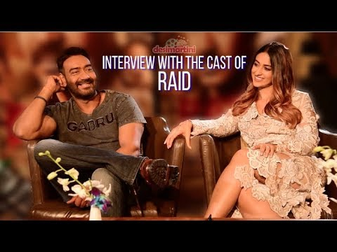 Interview with the cast of Raid | Ajay Devgn | Ileana D'Cruz |