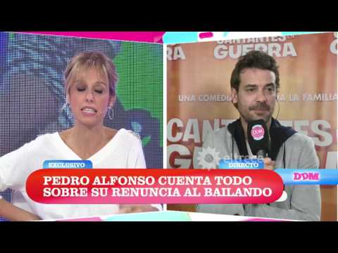 Pedro Alfonso cuenta todo sobre su renuncia al Bailando