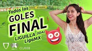 Goles Santos VS Toluca FINAL IDA 2-1 de la liga MX Clausura 2018- HD