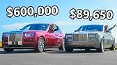2020 Rolls-Royce Phantom vs The Cheapest Phantom You Can Buy