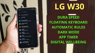 LG W30 : 5 COOL FEATURES YOU MUST USE ON YOUR PHONE