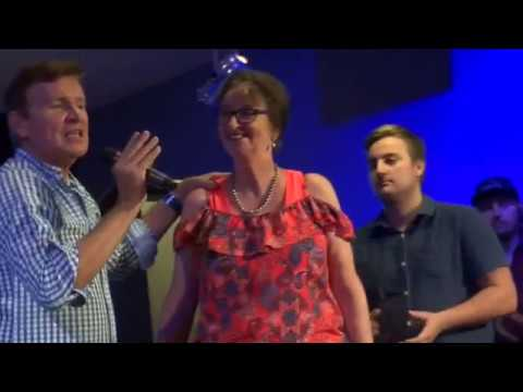 30 years of chronic asthma & painful fibromyalgia & arthritis healed - John Mellor Healing Ministry