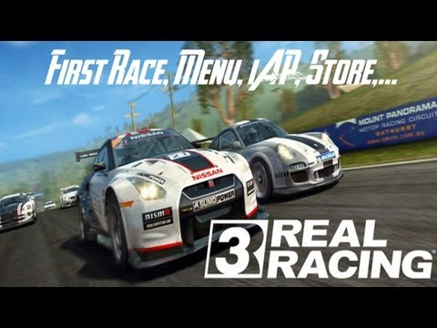 Real Racing 3 - First Race - HD Gameplay Trailer
