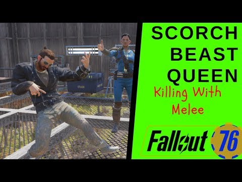 Fallout out 76 Scorch Beast Queen  With Melee - The After Patch thumbnail