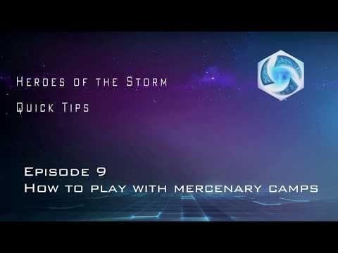 Heroes of the Storm Quick Tips: How to play with mercenary camps