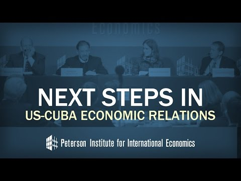 Next Steps in US-Cuba Economic Relations