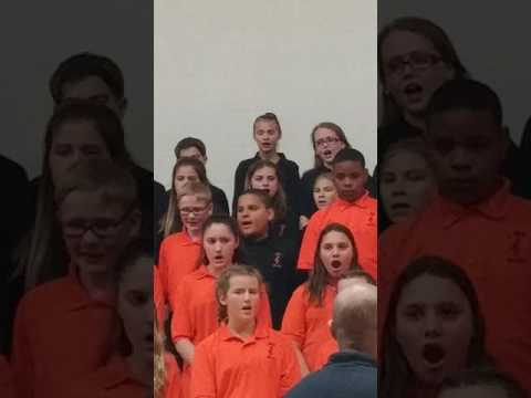 Lockerman Middle School Christmas Chorus Concert(7)