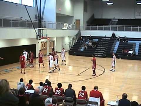 Edmonson County High School - Wildcat Basketball vs. Rock Creek Christian Academy (12/28/10)