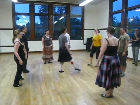 Scottish country dance class (Seattle, U district) - The Eightsome Reel