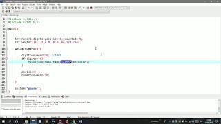 CONVERTIR NUMEROS BINARIOS A DECIMAL PROGRAMA EN C++