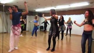 """ASI HASKAL DANCING  """" Bellydance Music """"Oum Kalthoum Baed annak"""