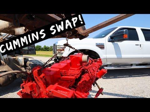 $5,000 2010 Ford F350- Cummins Swap 6.4L to 12 valve Cummins Part 3
