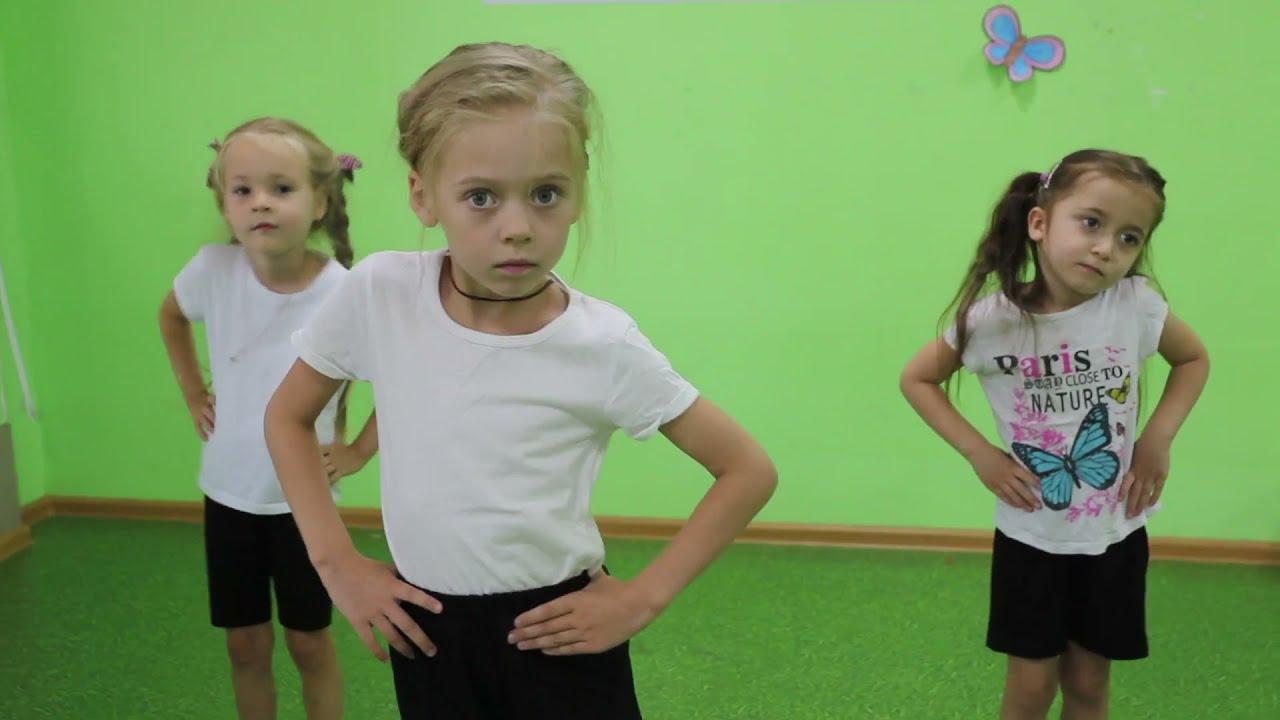 Занятие хореографией, школа искусств Пантеон. Одуванчик