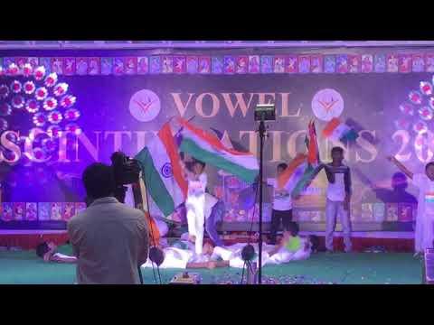 Vowel School Scintillation 2019 6th Standard Patriotic Dance