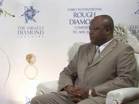 Israeli Diamond Industry Portal :Samuel Sam-Sumana interview