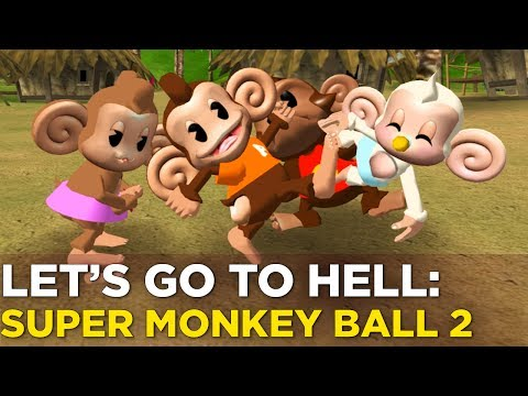 Nick and Griffin Turn SUPER MONKEY BALL 2 Inside Out — LET'S GO TO HELL