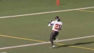 Ridgefield Tiger Football - Drew Arcoleo, 97 Yard Kickoff Return TD