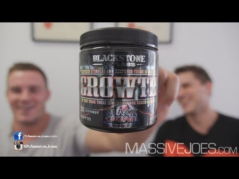 Blackstone Labs GROWTH GH Booster Supplement - MassiveJoes.com RAW REVIEW Boosting Hormone