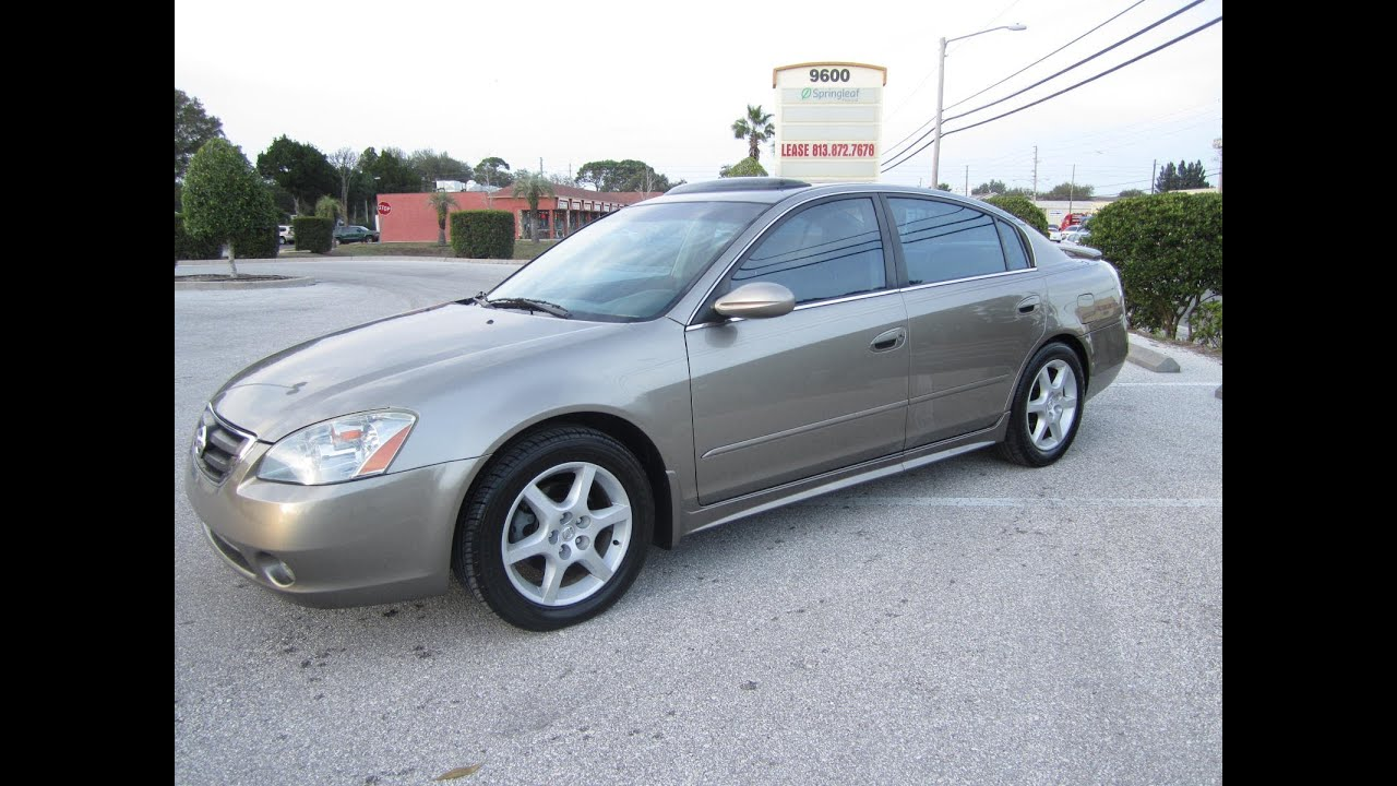Beautiful SOLD 2002 Nissan Altima 3.5 SE Meticulous Motors Inc Florida For Sale