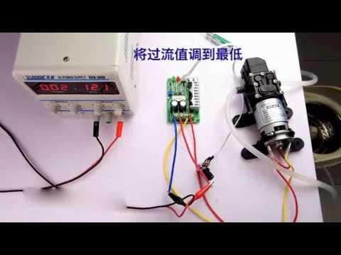 PWM-Steuer DC Motorgeschwindigkeitsregler 12V24V 36V15A Überlastungsschutz-getriebemotor