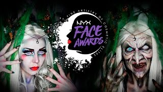 SWAMP WITCH / SUMPFHEXE NYX #faceawardsgermany make-up & sfx tutorial