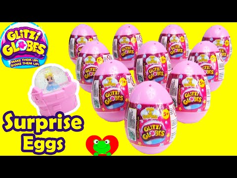 Glitzi Globe Surprise Eggs Cinderella Belle Fairies