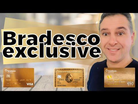 Bradesco Exclusive, Cartões e conta correnteÃO DE CRÉDITO ALTA RENDA