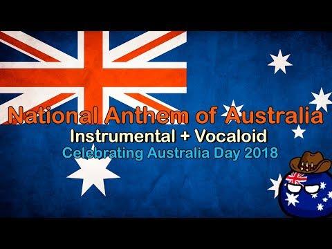 Vocaloid Advance Australia Fair with English Lyrics   Celebrating Australia Day 2018