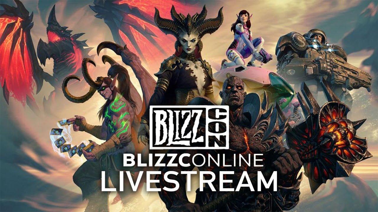 BlizzConline 2021 Livestream | Opening Ceremony & Day 1