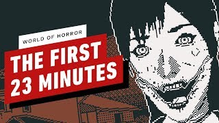 World of Horror - The First 23 Minutes of Gameplay